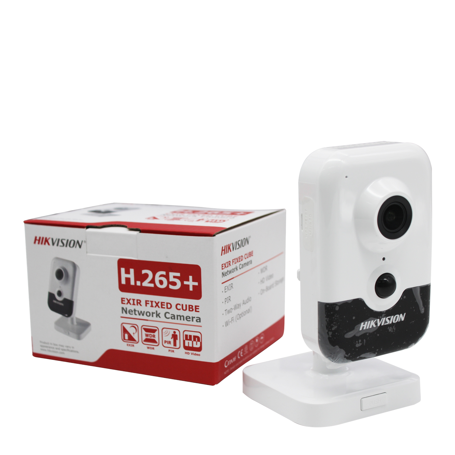 Original Hikvision 6MP WiFi cámara IP DS 2CD2463G0 IW HD cámara de seguridad inalámbrica hogareña H.265 Audio bidireccional ranura SD P2P IR 10M - 5