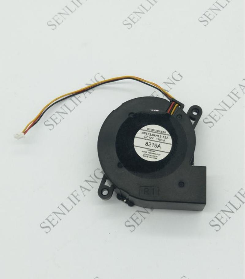 SF6023RH12-52A DC 12V 170mA 3-wire 60x60x25mm Server Cooling Fan
