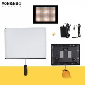 Image 1 - Yongnuo YN600 Không YN600 Siêu Mỏng Camera Video 3200K 5500K Studio Chụp Ảnh Đèn Điện AC adapter Dành Cho Máy Ảnh DSLR