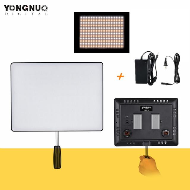 Yongnuo YN600 Không YN600 Siêu Mỏng Camera Video 3200K 5500K Studio Chụp Ảnh Đèn Điện AC adapter Dành Cho Máy Ảnh DSLR
