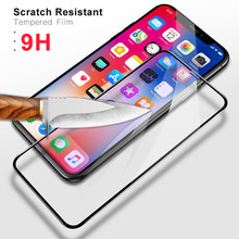 9D Full Cover Tempered Glass for IPhone 8 7 6 6S Plus X XS MAX Glass Iphone 7 8 X Screen Protector Protective Glass on Iphone 7(China)
