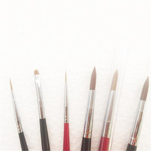 6 Pieces/Lot High Quality Dental Lab Porcelain Ceramist Brush Pen Finest Sable Ermine Set Tool