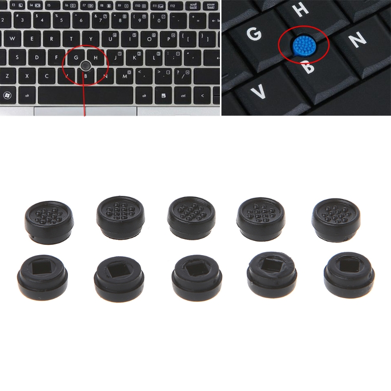10PCS Trackpoint Pointer Mouse Stick Point Cap For DELL Laptop Keyboard