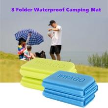 8 Folder XPE Camping Mat Folding Portable Small Cushion Moisture-Proof Waterproof Prevent Dirty Picnic Mat Beach Pad