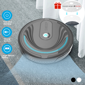 Floor Sweeping Dust Catcher Cleaning Easy Operation Universal USB Auto- Intelligent Robot Vacuum Cleaner(China)