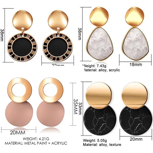 Fun geometric earring 6