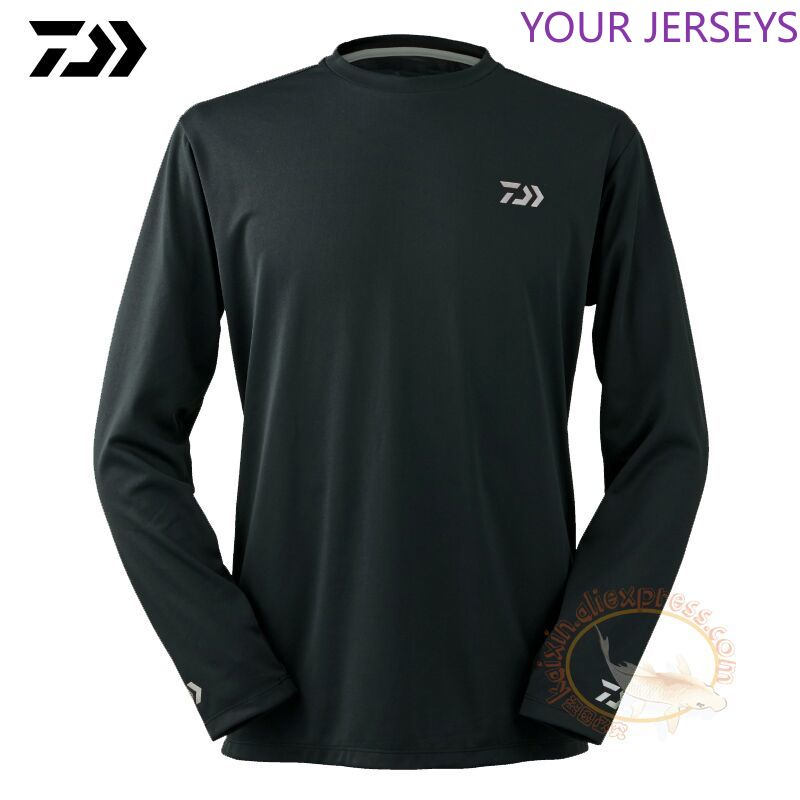 2020 Daiwa Fishing Clothing Long Sleeve XS-5XL Fishing Shirts Summer Quick-Drying Breathable Anti-UV Sun Protection T Shirt