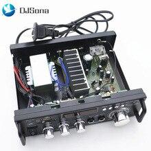 DJSona 600W DC12V AC220V Car Amplifier Mini HiFi Stereo Audi