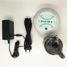 เท้าเครื่องดีท็อกซ์ทำความสะอาดไอออน Ionic Detox สปาเท้า Aqua Cell สปาเครื่อง Footbath นวด Detox Foot Bath อาร์เรย์ Aqua สปา
