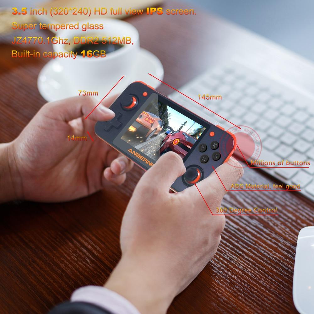 Ps1 novo anbernic rg350 ips retro jogos
