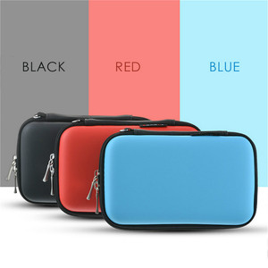 Convenient Hard Storage Box Organizer Ear Cup Disk Drive Storage Container Electronic Parts Storage Pouch 1PC Multifunction