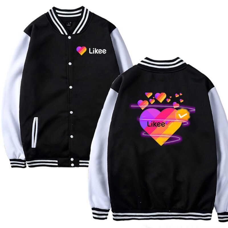 새로운 Likee 비디오 App 자켓 남성 여성 의류 베이비 키즈 자켓 소년 소녀 Likee 자켓 캐주얼 탑스 Likee Animal Fox Cat jacket