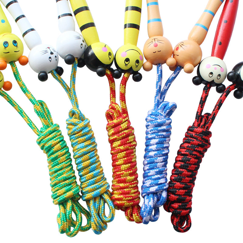 Adjustable Hemp Rope Jump Rope Exercise GIRL'S And BOY'S Beginners 2 M 4-5-6-7-Year-Old Children Training Kindergarten Jump Rope