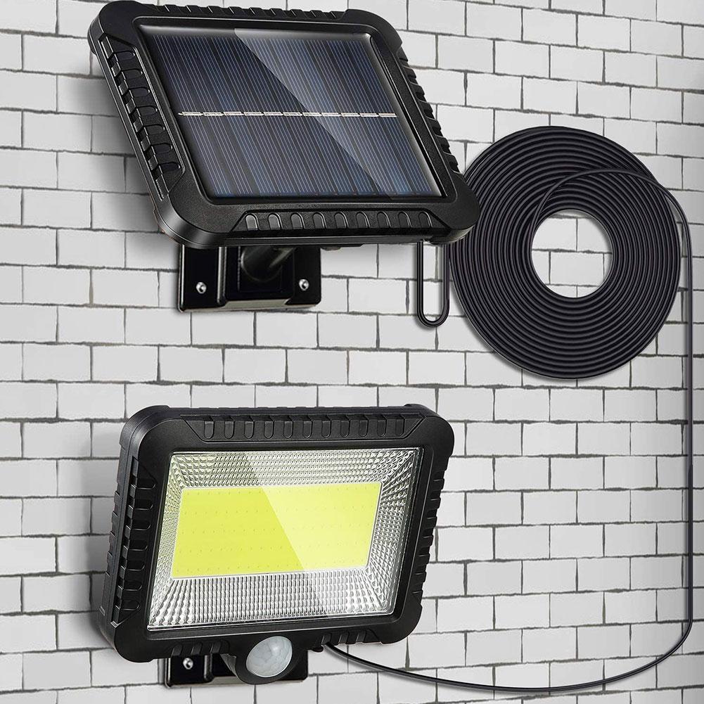100/120LED Solar Light Outdoor Motion Sensor Recharge Solar Wall Light Waterproof Emergency Led Light Street Garden Porch Lamp
