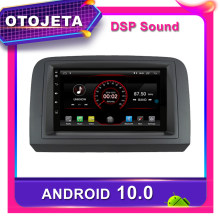 Bingkai Android 10 DVD Player Mobil Radio untuk Fiat Croma 2005 2011 Mobil GPS Navigasi Bluetooth Stereo Multimedia DVR Tape perekam(China)