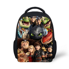 HaoYun Kindergarten Kids Backpack How to Train Your Dragon Pattern Babies School Book Bags Cartoon Design Boys Girls Small