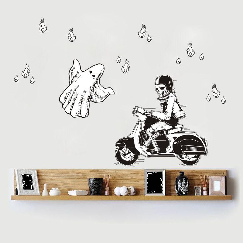 Funlife креативные 5 комплектов новых европейских декоративных стикеры Настенные акриловые зеркальные наклейки Корона Лебедь скандинавские И... - 4