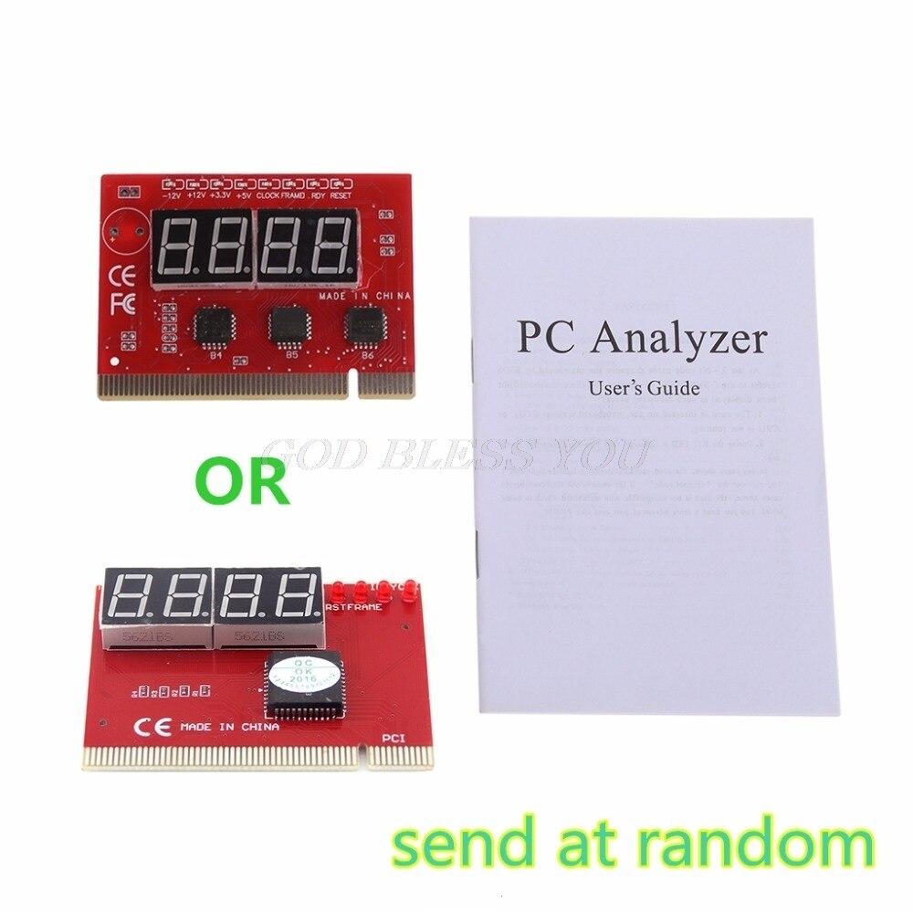 Yeni bilgisayar analizi PCI posta kartı anakart LED 4 Digit tanı testi PC analiz ağ onarım aracı kiti|Ağ Araçları|Bilgisayar ve Ofis -