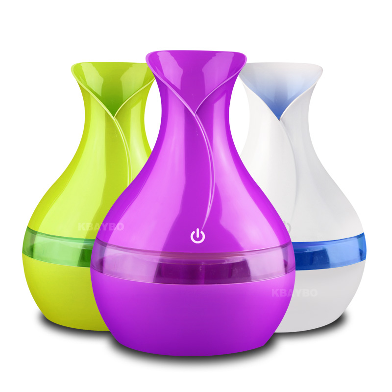 300 ML Air Ultrasonic Humidifier For Home Essential Oil Diffuser Atomizer Air Freshener Mist Maker With LED Night Light