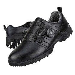 Golf Shoes Men Waterproof Sneakers Automatic Revolving Spikes Non-slip Breatheble Sneakers PGM Golf Shoe golfschoenen heren