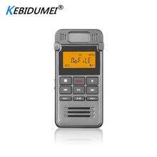 Kebidumei 디지털 보이스 레코더 usb 오디오 녹음 딕 터폰 mp3 플레이어 led 디스플레이 활성화 8 gb 메모리 소음 감소