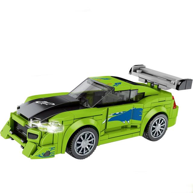 City Vehicles Compatible Legoingly Speed Champions Sports car Racing Super Racers Figures Model Moc Building Blocks Toys Technic