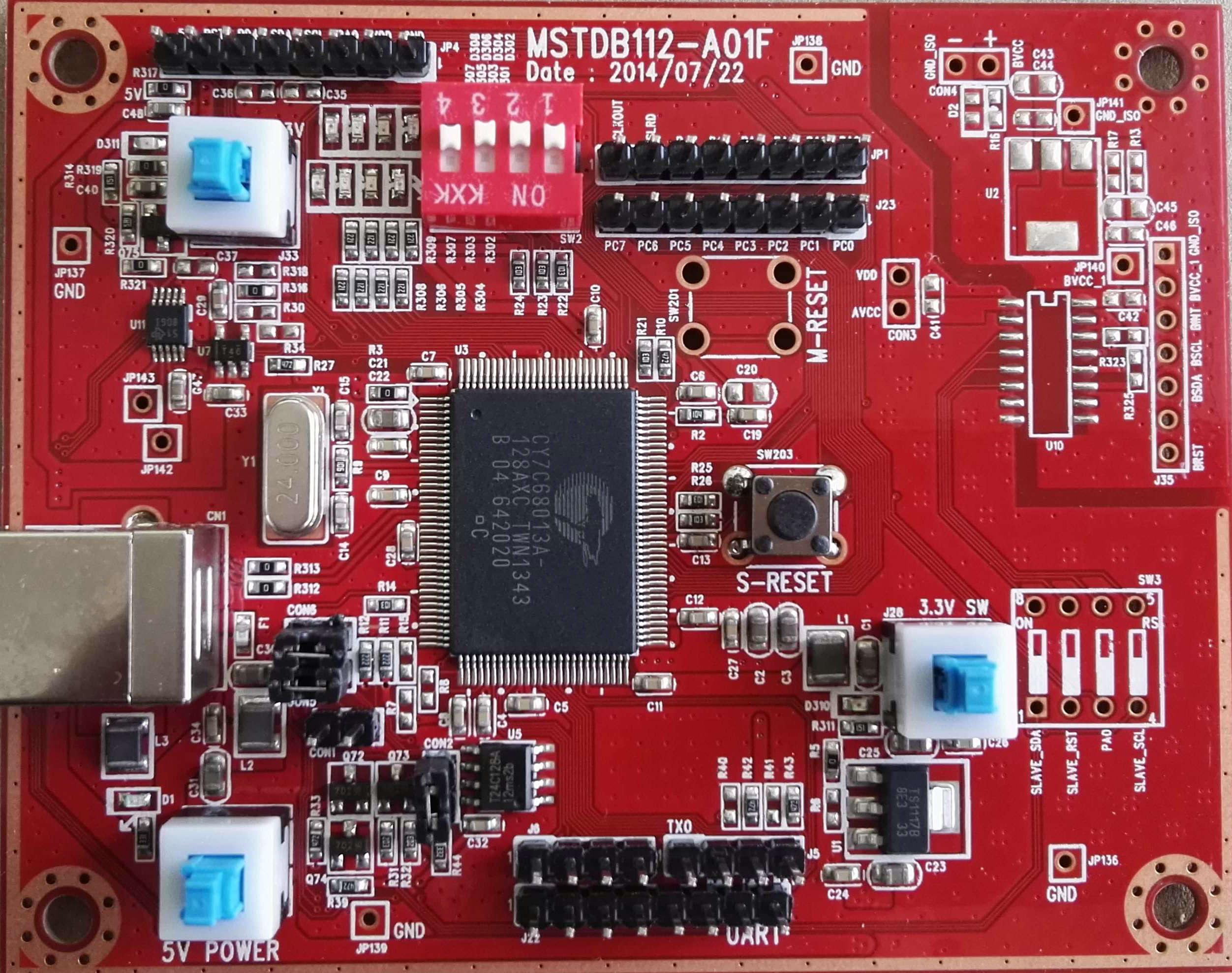 Mstar MDK Capacitive Screen Test Board