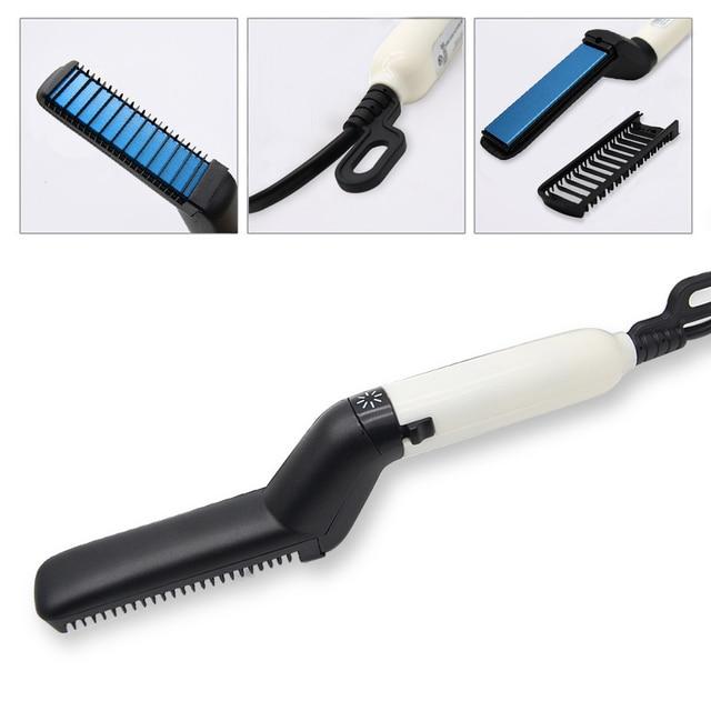Brush Beard Straightener Hair Straighten Comb Hair Curler Quick Hair Styler Multifunctional Hair Comb 4