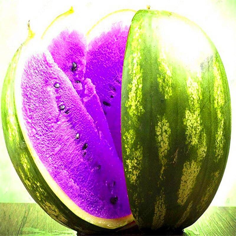 Plant Flower Bath Salts Purple Watermelon Essence 100Pcs XZZ-313