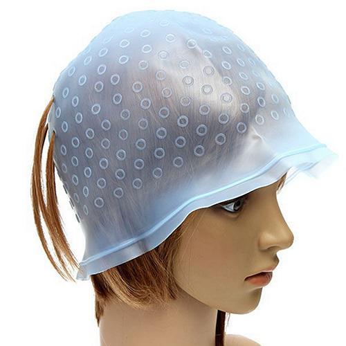 2019 Hot Hair Colouring Highlighting Cap Hook Salon Dye Hair Reusable Set Frosting Tipping Dyeing Hairstyle DIY Tools Dye Cap