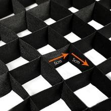 Софтбокс Сетка 60X90 см профессиональная Фотостудия вспышка освещение портативный прямоугольник 5*5 см сотовая решетка фотографии