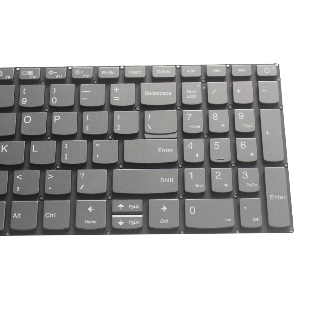 Image 4 - NEW US Keyboard for Lenovo IdeaPad 520 15 520 15IKB 320S 15 320 15ISK 320S 15IKBR US laptop  keyboard black with backlightReplacement Keyboards   -