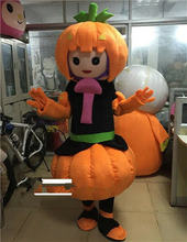 Реквизит на Хэллоуин костюм талисман с тыквой костюмы для взрослых