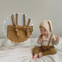 Pants Leggings Toddler Baby-Boy-Girl Overalls Infant Korean-Style High-Waist Autumn Spring
