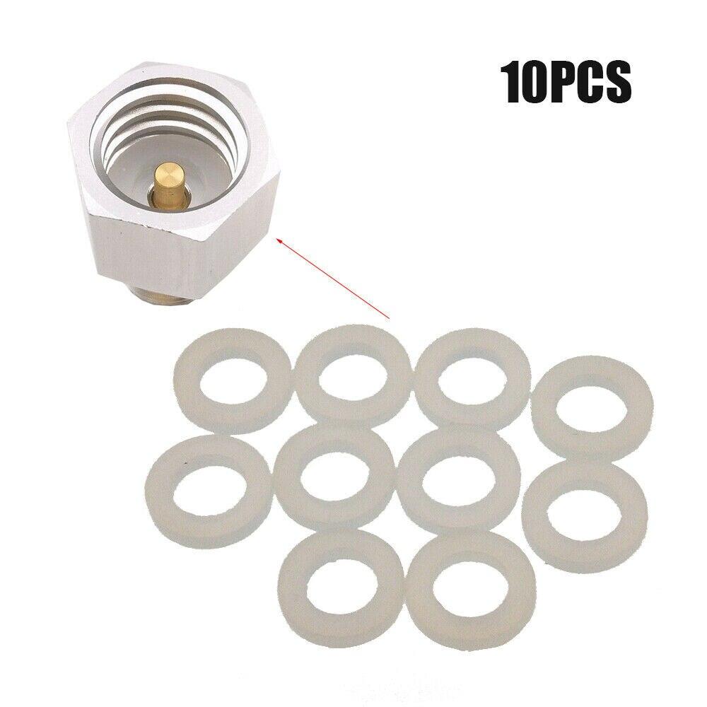 10pcs SodaStream Cylinder Co2 Adapter Washer O Ring Gasket For Homebrew Aquarium