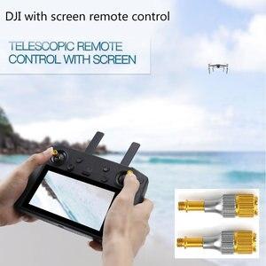 Image 3 - Drone ayarlanabilir uzaktan kumanda alüminyum alaşım Rocker sopa Mavic 2 Pro hava Mini aksesuarları ekran kontrol