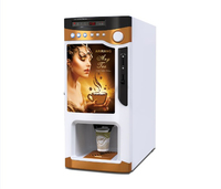 Commercial automatic coffee machine/ coffee maker/ coin operated vending machine/Vending coffe machine