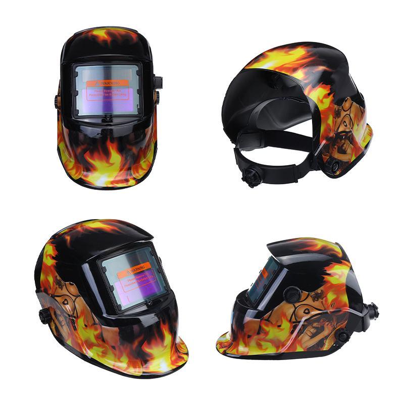 Welding Auto Grinding Automatic TIG Machine ARC Welding Helmet Solar MIG Darkening Mask Welding Lens