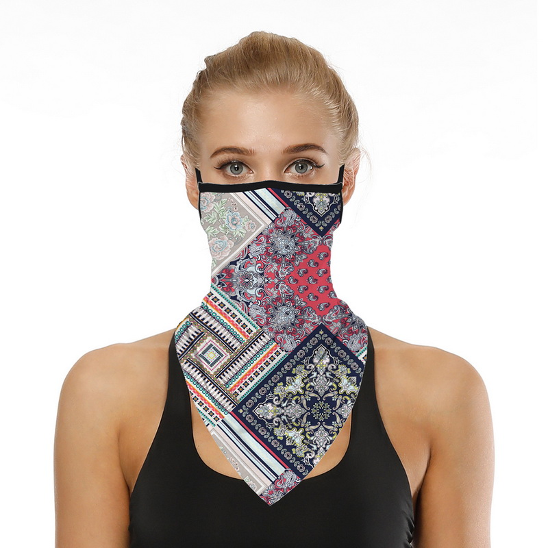 Printing Style Outdoor Scarf Mask Variety Turban Magic Scarves Face Mesh Headband Skull Neck Bandanas Men Women braga cuello