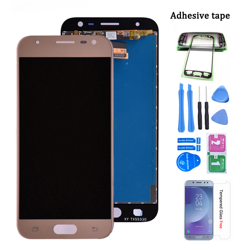 Original J330 LCD For Samsung Galaxy J3 2017 J330 J330F/DS J330G/DS LCD Display Touch Screen Digitizer Assembly J3 2017 Dual Sim