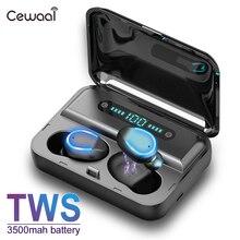 TWS 5,0 беспроводные наушники Bluetooth беспроводные наушники-вкладыши гарнитура стерео Noice снижение зарядки коробка power Bank