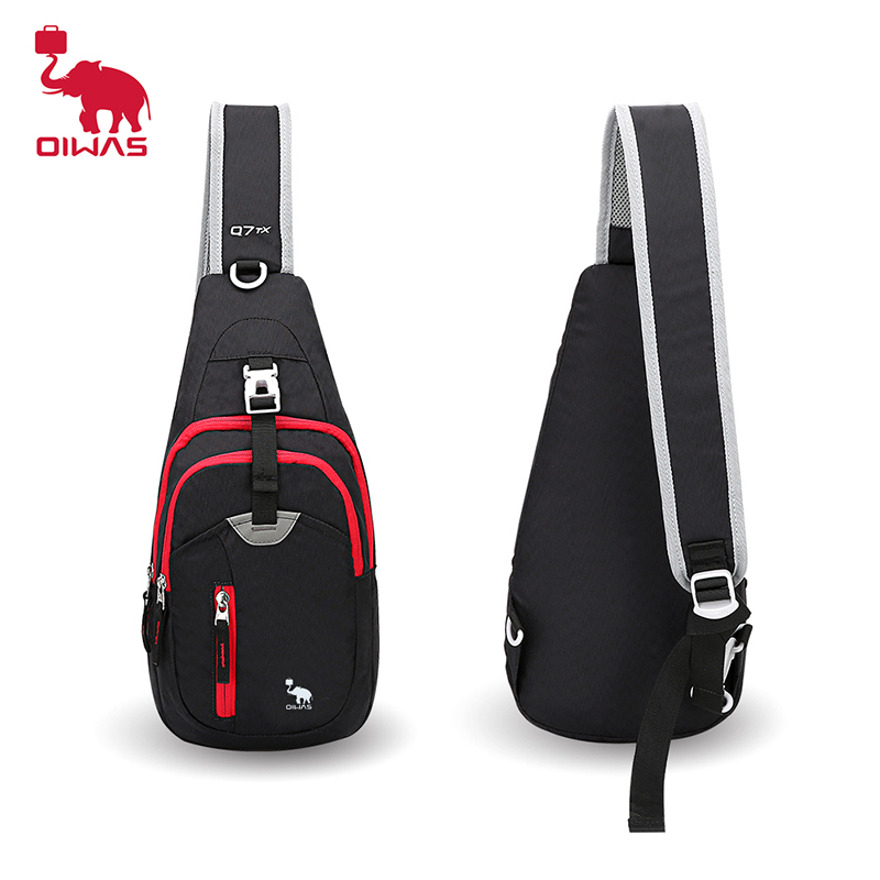 Oiwas Kimlee Crossbody Pack Chest Shoulder Sling Bags One Strap Lightweight Pouch Day Bag For Outdoor Bags