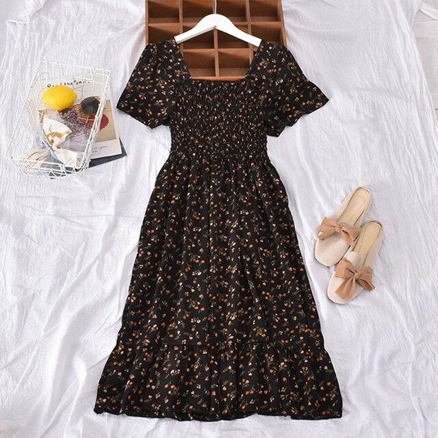 Casual Summer Dress Bohemian Elegnant and Long 5