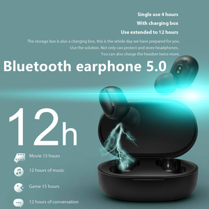 A6S TWS Wireless Bluetooth 5.0 Earphone Mini Earbuds With Mic Charging Box Sport Bluetooth Headphone For Smart Phone for Sport