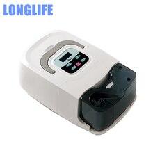 Longlife GI Portable CPAP Machine for Sleep Apnea OSAHS OSAS Snoring COPD W/ Mask Headgear Tube SD Card Ventilator Respirator