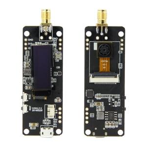 Image 1 - LILYGO®TTGO T журнал ESP32 камера ESP32 OV2640 камера SAM Wifi 3dbi антенна 0,91 OLED ESP32 плата камеры