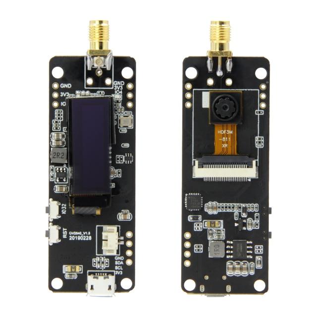 LILYGO®TTGO T журнал ESP32 камера ESP32 OV2640 камера SAM Wifi 3dbi антенна 0,91 OLED ESP32 плата камеры