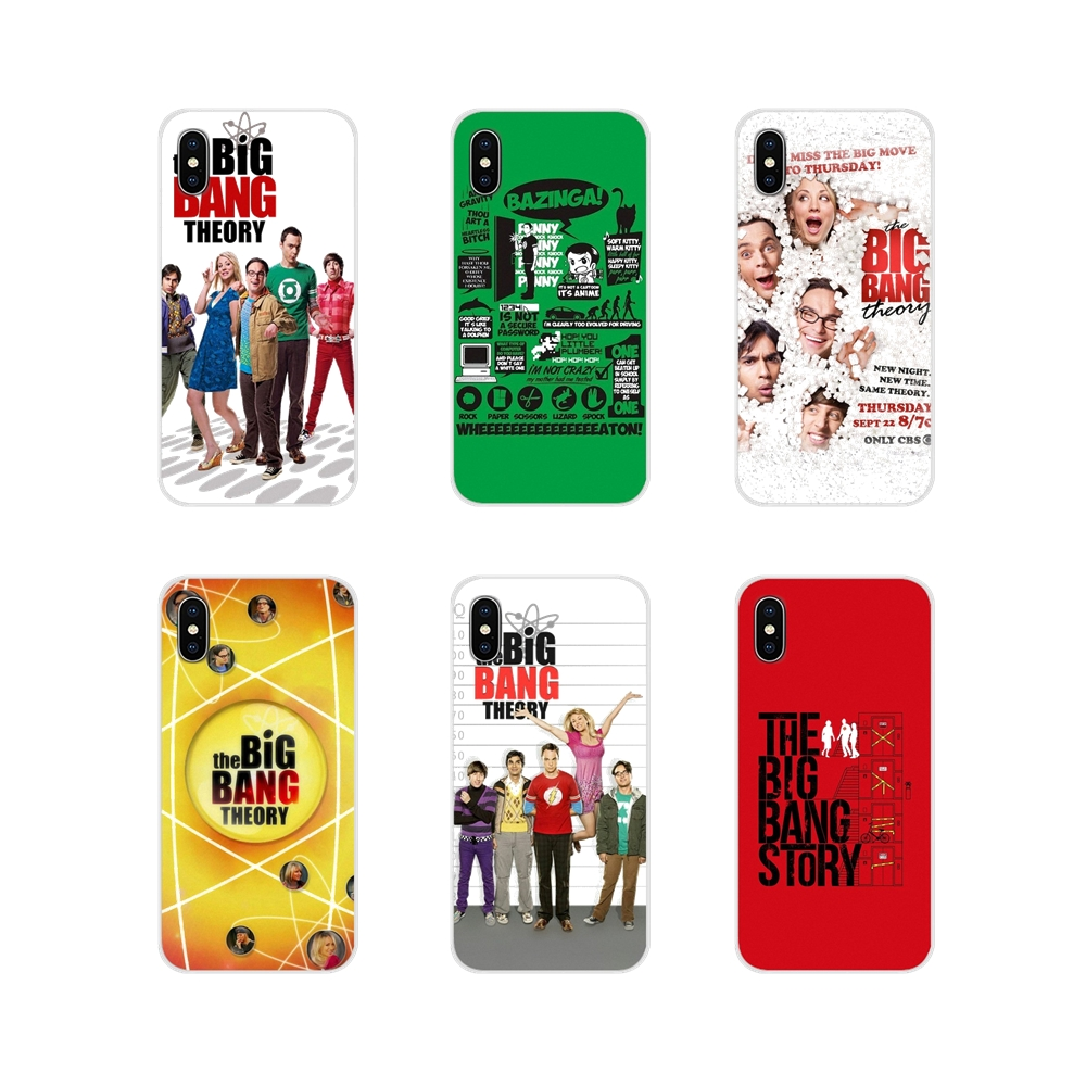 Silicone <font><b>Phone</b></font> <font><b>Cases</b></font> The <font><b>Big</b></font> <font><b>Bang</b></font> Theory Tv Show Amazing For Samsung A10 A30 A40 A50 A60 A70 Galaxy S2 Note 2 3 Oneplus 3T 5T 6T image