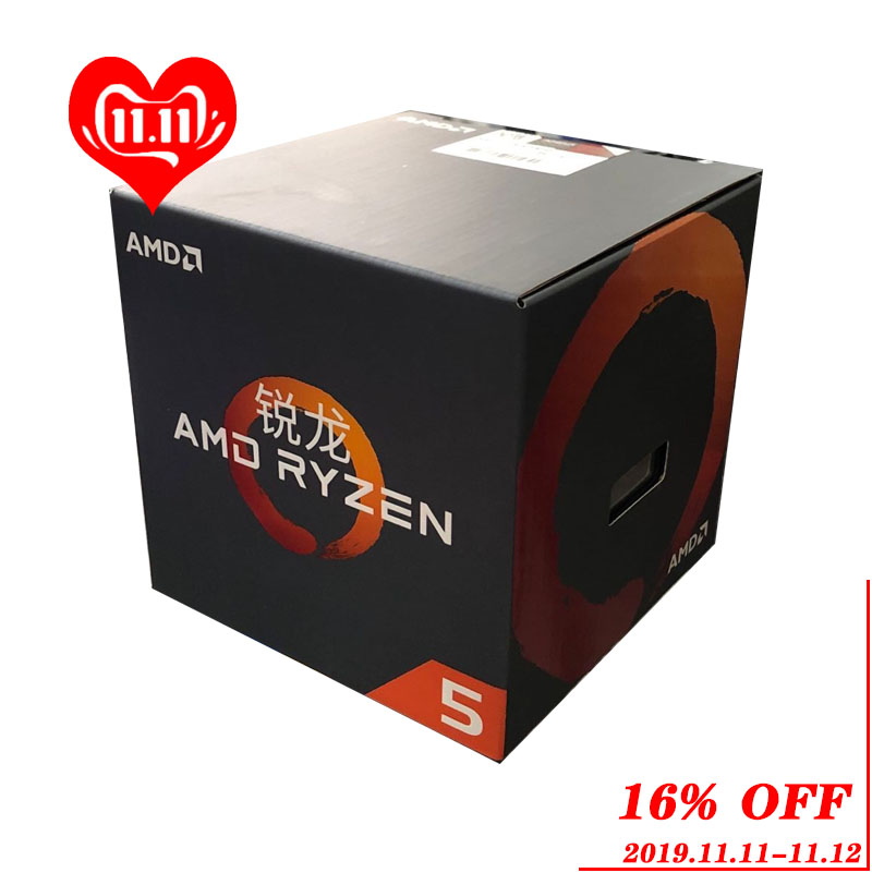 AMD Ryzen 5 1400 R5 1400 3.2 GHz Quad Core Eight Thread CPU Processor L2=2M L3=8M 65W YD1400BBM4KAE Socket AM4 New and with fan-in CPUs from Computer & Office