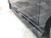 Carbon Fiber Side Skirts Aprons for Audi A3 S3 Hatchback 4 Door 2017 2019 Bumper Guard car styling